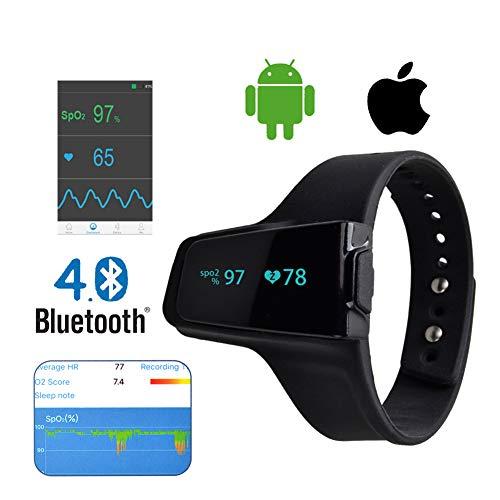 AMQ Smart Handgelenk Portable Oximeter Wireless Sport und Schlaf Pulsmesser
