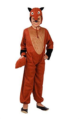 Magicoo Fuchs Kostüm für Kinder - Komplettes Fuchskostüm -