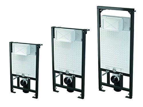 WC Vorwandelement zur ECKMONTAGE, Unterputzspülkasten, Bauhöhen 85 100 120 cm, Größe:85cm