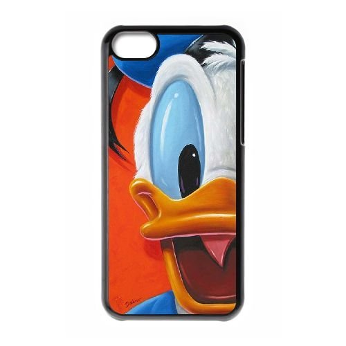 Donald Duck iPhone 5C case cover, personalized case for iPhone 5C Donald Duck, personalized Donald Duck phone case
