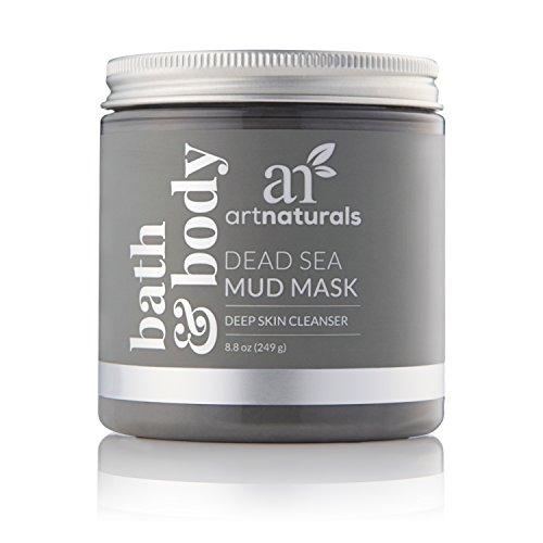 ArtNaturals Dead Sea Mud Mask – (8.8 Oz / 250g) – for Face, Body & Hair – 100% Natural Deep Skin Cleanser – Clears Blemishes, Reduces Pores & Wrinkles – Spa Quality – Mineral Infused Additive Free