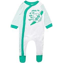 STAR WARS Pijama Entera para Niños Bebés Yoda 3-6 Meses