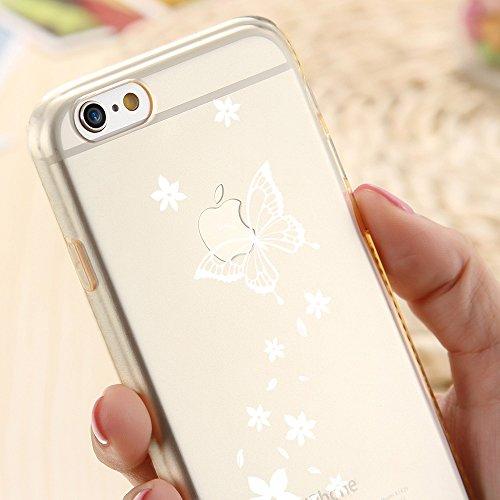 Ooh.Color® Fitty Patterns Design Case Cover Per iPhone Custodia Protettivo elastico Print Pattern Transparent Motiv duenne flexibele lusso custodia slim silicone TPU Motiv 21