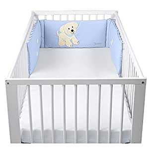 Sterntaler Cot Bumper (Hardy The Dog, 190 x 27 cm)