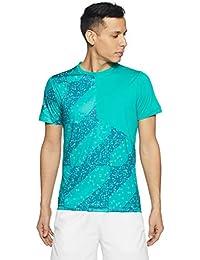 ASICS Men's Solid Slim Fit T-Shirt
