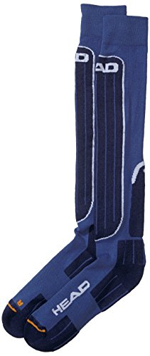 head-kneehigh-1p-performance-chaussettes-de-ski-multicolore-amsi-blue-43-46