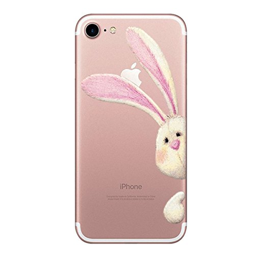 custodia iphone 7 silicone animale