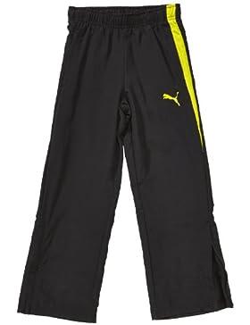 PUMA Spirit woven - Pantalones de fútbol, color negro, talla 14 años (162 cm)