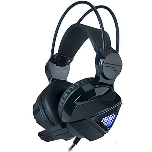 ZSH Headset wearingE-Sportwaffe - Subwoofer-Headset USB-Schnittstelle 7.1-Kanal-Videospiel-Hörposition mit Mikrofon-Headset