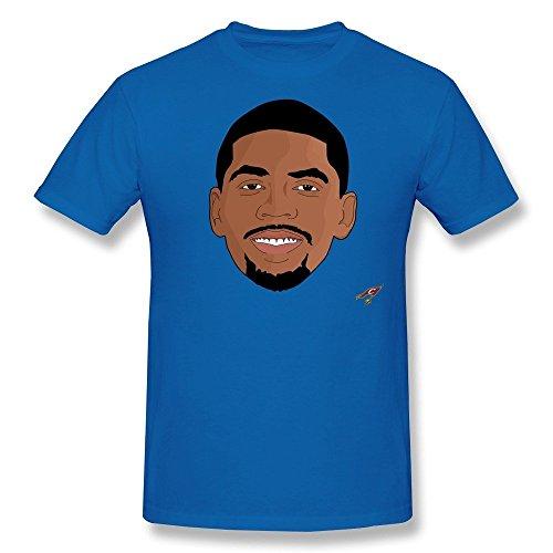 maikeer Men's Kyrie Irving Face T-shirt