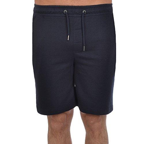 Brave Soul Herren Shorts Jogger Tarley - Dunkelblau, S (Shorts Zwei Sweat)