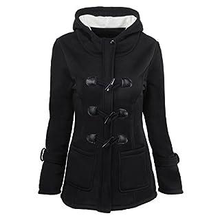 Eagsouni® Damen Mantel Jacke Herbst Pullover Winterjacke Sweatshirt Hoodies Langarm Jacke Trenchcoat Outwear Mit Kapuze