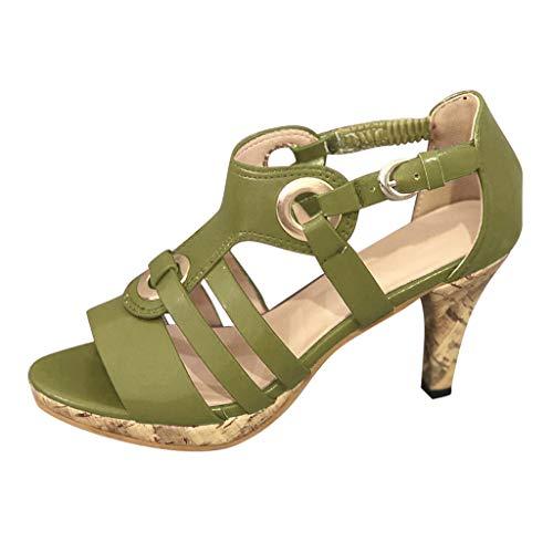 sommer elegante boho vintage damen frauen mode retro runde kopf wedges flats elastic band dicken unteren sandalen hausschuhe outdoor strandschuhe plattform keilsandalen