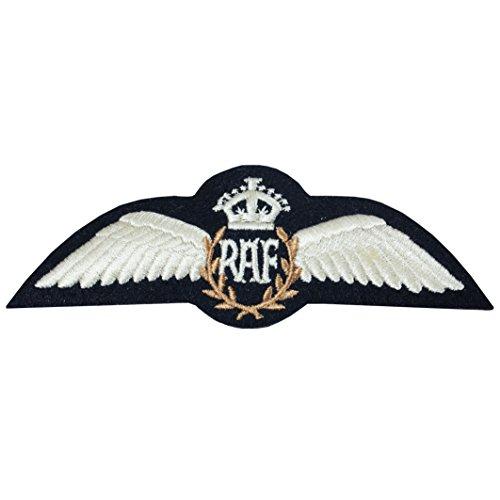 British WW2 Royal Air Force RAF PILOTS WINGS Padded Uniform Arm Patch
