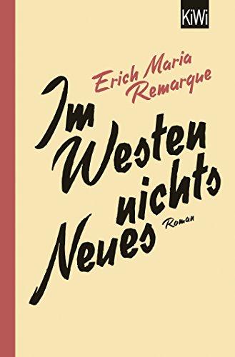 Buchseite und Rezensionen zu 'Im Westen nichts Neues: Roman. Ohne Materialien' von E.M. Remarque
