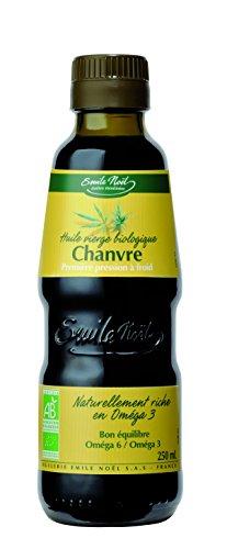 Huile vierge de Chanvre bio Emile Noël