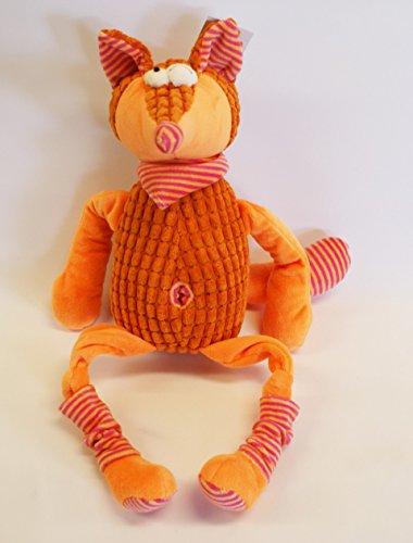 Fuchs Kuscheltier Stofftier super soft H: 50 cm orange Soft-fuchs Stofftier