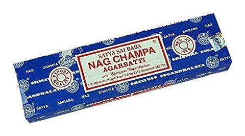 buycrafty Satya Sai Baba Nag Champa 100Gramm-Räucherstäbchen Agarbatti