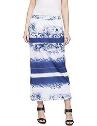 Printed Column Skirt