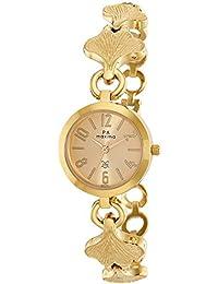 Maxima Analog Gold Dial Women's Watch - 49741BMLY