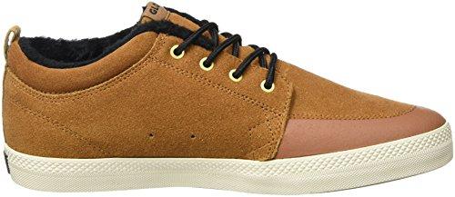 Globe GS Chukka, Unisex-Erwachsene Sneaker Braun (Brown/Black/Wool)
