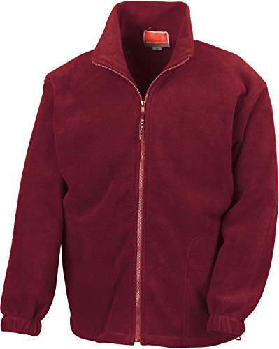 Result Polartherm Jacke Größe L burgunderfarben