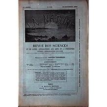 NATURE (LA) [No 860] du 23/11/1889 - LA PHOTOGRAPHIE DU MOUVEMENT - LA LIQUEUR D'ABSINTHE - FOURRURES - PARFUM DES ROSES - BLONDEL - LE VERRE TREMPE - DE LA BASTIE - MACHINE A ECRIRE - MARESCHAL - ELECTRICITE AU CHATEAU ROYAL DE PELESH ET DU PALAIS ROYAL DE BUCAREST - LAFFARGUE - EXPOSITION UNIVERSELLE - GAHERY - LES VERROUS DE SURETE - MARESCHAL - EMILE MULLER - DE NANSOUTY - LE DR QUESUEVILLE - TISSANDIER MEUNIER.
