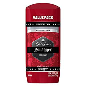 Old Spice Red Zone Collection Swagger Scent Men's Deodorant Twin Pack 6 Oz