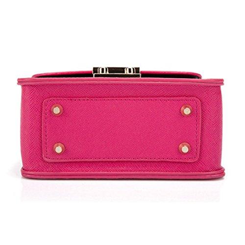 Kettenschultertasche Umhängetasche Handtaschen,Purple Red