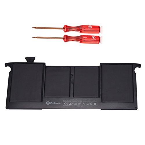 """iProPower A1375 Laptop Ersatz Akku Notebook Batterie für Apple Unibody MacBook Air 11\"""" A1370 (2010 Version) MacBookAir3,1 [35Wh 7.3V 5000mAh]"""