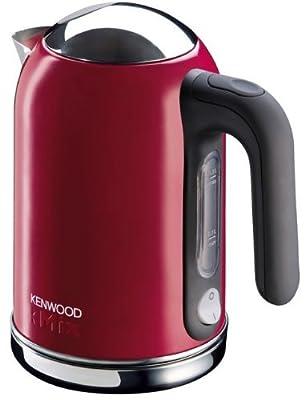 Kenwood - 0WSJM03102 - Bouilloire Electrique, 2200 watts, Gris / Rouge / Argent