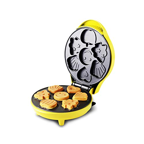 ZZ Waffle Waffeleisen Mini, Home Use Antihaftbeschichtung Doppelseitig Konstanttemperaturheizung...