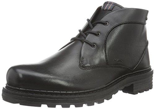 Marc ShoesPaul - Stivali a metà gamba con imbottitura pesante  Uomo , Nero (Schwarz (Black 100)), 43