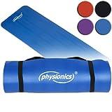 Physionics Fitnessmatte 1.5 Blau 180x60, FNMT04-1.5