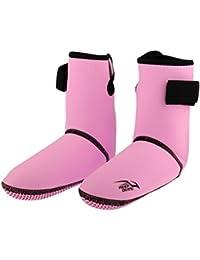 Homyl Uomo Donna Flessibile Scarpe, Calzini Acqua Scarpe Regolabile per Spiaggia Nuoto Surf Yoga Accessori - Blu, M
