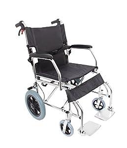 AMW1863 Lightweight Folding Transit Wheelchair