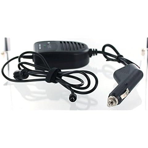 Caricabatteria da auto compatibile con HP padiglione 17-G013NG con 65 W/19,5 V/3,33 A