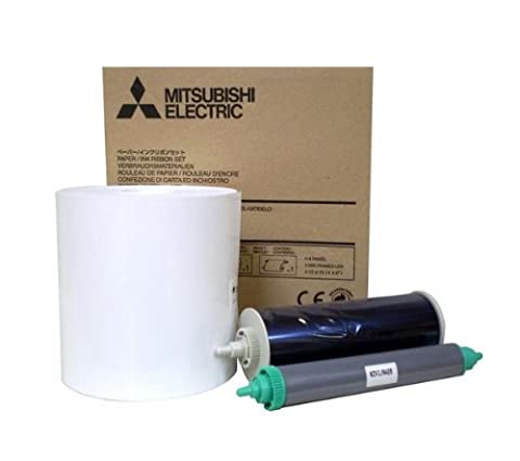Mitsubishi Laminated Glossy Roll Paper + Ink Sheet for Photo Printer CP3800DW