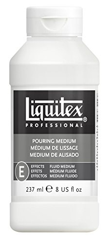 Liquitex Professional 5408 Gieß- und Pouring- Medium, wasserfest, nicht-vergilbend, flexibel, erhöht den Farbfluss, 237 ml Flasche