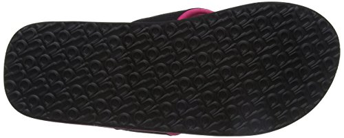 Animal Swish Logo, Sandali Donna Nero (Black)