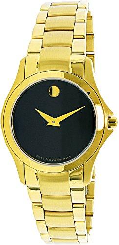 Movado Masino 0607027 oro acero inoxidable cuarzo suizo moda reloj mujer Oro