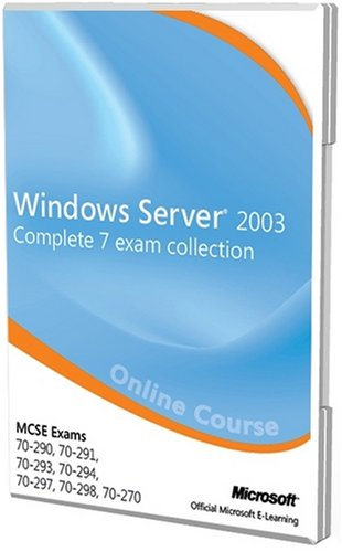 windows-server-2003-mcse-complete-7-exam-collection-exams-70-290-70-291-70-293-70-294-70-297-70-298-
