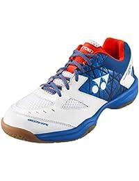 Yonex - Zapatillas de Squash y bádminton de Sintético para Hombre White/Blue