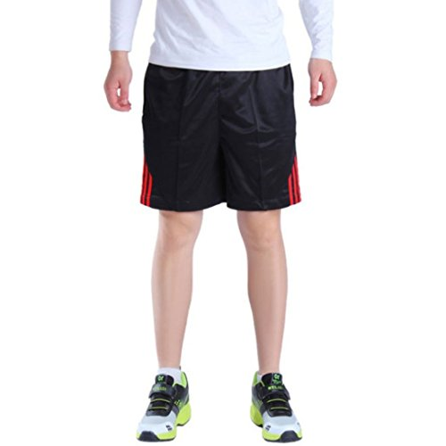 Men's High Quality Fitness Running Shorts red