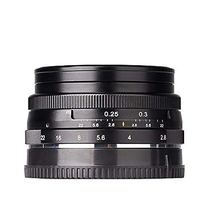 Meike MK 28 mm f2.8 Gran Apertura Fijo sin Zoom APS-C Enfoque Manual Multi Revestimiento Lente de cámara para Canon M2 M3 M5 M10 EOS-M cámara sin Espejo