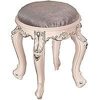 Comparador de precios ANHPI-Dressing Makeup stool Taburete del Tocador del Dormitorio del Taburete del Maquillaje De Madera Sólida del Taburete del Taburete del Taburete,B - precios baratos