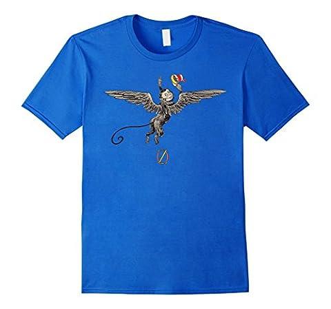 T-shirt Tee Shirt Wizard of Oz Flying Monkey Dude Male
