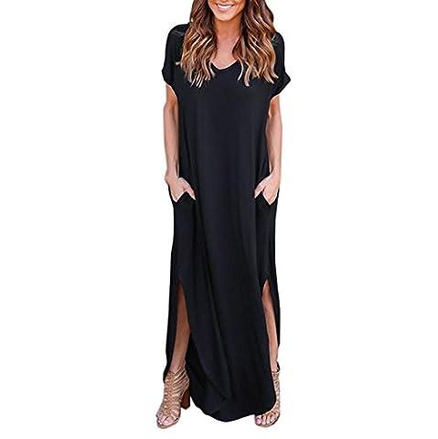 Noir Halloween Costumes Pour Les Couples - Minetom Robe de femme Robe longue manches