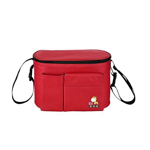 Yimidear impermeabile borsa su passeggino prende pannolini sacchetto più freddo stile tote e a spalla