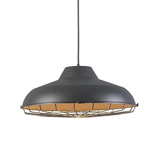 qazqa-disenoindustrialretro-vintage-lampara-colgante-lucas-gris-metal-redonda-adecuado-para-led-e27-